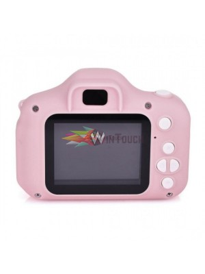Kids Digital Camera Portable Cartoon Cute Camera Toys kid's Gift Kamera Digital 3.0MP (pink) Εικόνα & Ήχος
